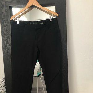 BR blue crop pants